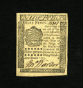 Colonial Notes:Pennsylvania, Pennsylvania October 25, 1775 9d Superb Gem New. This is certainlyfar and away the nicest example we have ever had of this ...