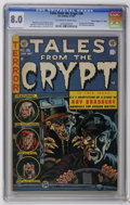 "Golden Age (1938-1955):Horror, Tales From the Crypt #36 Davis Crippen (""D"" Copy) pedigree (EC,1953) CGC VF 8.0 Off-white to white pages. Jack Davis cover...."