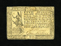 Colonial Notes:Virginia, Virginia May 6, 1776 $5 Extremely Fine-About New. This is the highest grade example of this more available denomination that...