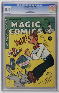 Magic Comics #88 (David McKay Publications, 1946) CGC VF 8.0 Off-white to white pages. Very fresh looking copy. Only CGC...