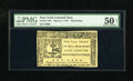 Colonial Notes:New York, New York March 5, 1776 $1/2 PMG About Uncirculated 50. This is alovely high grade example of this always daunting colony wh...
