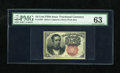 Fractional Currency:Fifth Issue, Fr. 1266 10c Fifth Issue PMG Choice Uncirculated 63. A very wellmargined example of this short key Walker that appears to b...