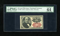 Fractional Currency:Fifth Issue, Fr. 1309 25c Fifth Issue PMG Choice Uncirculated 64EPQ. A very well margined example of this short key Walker that has excel...