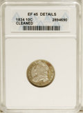 Bust Dimes: , 1834 10C Small 4--Cleaned--ANACS. XF45 Details. NGC Census: (4/205). PCGS Population (8/146). Mintage: 635,000. Numismedia ...