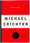Books:Mystery & Detective Fiction, Michael Crichton. INSCRIBED. Disclosure. New York: Alfred A.Knopf, 1994. First Edition. Inscribed by the author....
