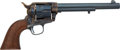 Handguns:Single Action Revolver, Restored Colt Etched Panel Frontier Six-Shooter....
