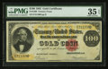 Large Size:Gold Certificates, Fr. 1208 $100 1882 Gold Certificate PMG Choice Very Fine 35 EPQ.. ...
