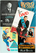 Books:Biography & Memoir, [Biography/Nonfiction]. Group of Five Related to Television.Various publishers and dates. ... (Total: 5 Items)
