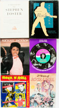 Books:Music & Sheet Music, [Music]. Group of Six about Rock and Roll. Various publishers anddates.... (Total: 6 Items)