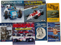 Miscellaneous Collectibles:General, 1949-90s Indianapolis 500 Related Books Lot of 7 - Some Signed....