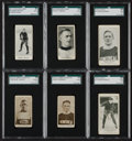 Hockey Cards:Lots, 1920's Vintage Hockey Card SGC Graded Group (6). ...