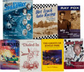 Miscellaneous Collectibles:General, 1980's Collection of Seven Dirt Car Related Books - Three Signed bythe Author. ...