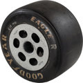 Miscellaneous Collectibles:General, 1980's Goodyear Race Used Tire from A.J. Foyt. ...