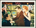 "Movie Posters:Crime, Taxi (Warner Brothers, 1932). Lobby Card (11"" X 14"").. ..."
