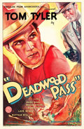 "Movie Posters:Western, Deadwood Pass (Monarch, 1933). One Sheet (27"" X 41.25"").. ..."