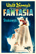 "Movie Posters:Animation, Fantasia (RKO, 1940). One Sheet (27"" X 41"") Style B.. ..."