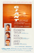 "Movie Posters:Drama, Giant (Warner Brothers, 1956). One Sheet (27"" X 41.25"").. ..."