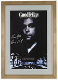 "Miscellaneous Collectibles:General, Henry Hill Signed ""Goodfellas"" Print...."