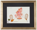 Miscellaneous Collectibles:General, Friz Freleng Signed Pink Panther Serigraph. ...