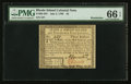 Colonial Notes:Rhode Island, Rhode Island July 2, 1780 $3 PMG Gem Uncirculated 66 EPQ.. ...