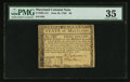 Colonial Notes:Maryland, Maryland June 28, 1780 $8 PMG Choice Very Fine 35.. ...