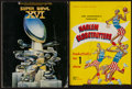 Miscellaneous Collectibles:General, 1950s Harlem Globetrotters and 1982 Super Bowl XVI Programs (2)....