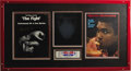 """Boxing Collectibles:Autographs, Muhammad Ali & Ken Norton Bout Signed X-Ray Display. """"The Jawis Broken but the Mouth Lives On"""" announced the cover ofSp..."""