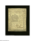 Colonial Notes:Delaware, Delaware May 1, 1777 5s Extremely Fine. Although some ...