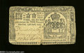 Colonial Notes:New York, New York April 15, 1758 L10 Very Fine. The center fold has ...