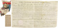 """Autographs:U.S. Presidents, Andrew Jackson Partly-Printed Document Signed, """"AndrewJackson"""", one page with docketing on vellum, 15.5"""" x 9.5"""",Washin... (Total: 1 Item)"""