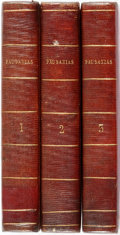 Books:World History, [Pausanias]. [Greek Title] Pausaniae Graeciae Descriptio ad Optimorum Librorum Fidem Accurate Edita. Edition Stereotypa.... (Total: 3 Items)