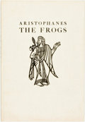 Books:Literature Pre-1900, John Austen. SIGNED/LIMITED. Aristophanes. The Frogs. New York: Limited Editions Club, 1937. Limited to 1500 num...