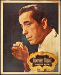 "Movie Posters:Miscellaneous, Humphrey Bogart Personality Poster (Warner Brothers, 1948). Poster(14"" X 17"").. ..."