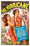 "Movie Posters:Adventure, The Hurricane (United Artists, 1937). One Sheet (27"" X 40.75"")....."