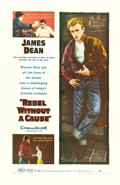 "Movie Posters:Drama, Rebel without a Cause (Warner Brothers, 1955). One Sheet (26.75"" X41.25"").. ..."