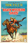 "Movie Posters:Western, Neath Western Skies (Syndicate Pictures, 1929). One Sheet (27"" X41"").. ..."