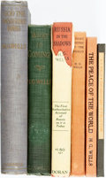 Books:Social Sciences, H. G. Wells. Group of Six Non-fiction Titles. Various publisher'sand dates. ... (Total: 6 Items)