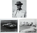 Miscellaneous Collectibles:General, Indianapolis 500 & Sprint Race Car & Driver Photographs Lotof 75+....