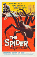 """Movie Posters:Horror, The Spider (American International, 1958). One Sheet (27"""" X 41"""").. ..."""