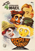 "Movie Posters:Comedy, Duck Soup (Selecciones Capitolio, R-1965). Spanish One Sheet (27"" X 39"").. ..."