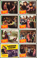 "Movie Posters:Western, The Border Legion (Republic, 1940). Lobby Card Set of 8 (11"" X 14""). Western.. ... (Total: 8 Items)"