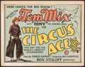 "Movie Posters:Western, The Circus Ace (Fox, 1927). Title Lobby Card (11"" X 14""). Western....."