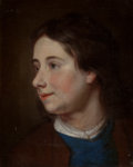 Fine Art - Painting, European:Antique  (Pre 1900), BRITISH SCHOOL (18th Century). Portrait of a Young Boy. Oilon canvas. 14-1/2 x 11-3/4 inches (36.8 x 29.8 cm). PROPER...