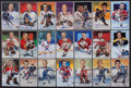 Hockey Collectibles:Others, 1992-94 Legends of Hockey Signed Postcards Lot of 9 (With 12 Unsigned). ...