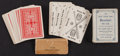 Baseball Collectibles:Others, Early 1900s Harking Card Company Baseball Game....