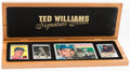 "Baseball Collectibles:Others, Ted Williams ""Signature Series"" Limited Edition Set #188/521...."