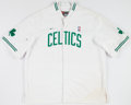 Basketball Collectibles:Uniforms, Vin Baker Game Worn Boston Celtics Warm Up Jacket and Pants....