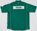 "Basketball Collectibles:Uniforms, Boston Celtics Game Worn Warm Up Jacket and Pants (""Greene"")...."