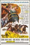 "Movie Posters:Drama, The Sword and the Cross & Others Lot (Valiant Films, 1960). One Sheets (4) (27"" X 41""). Drama.. ... (Total: 4 Items)"