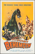 """Movie Posters:Science Fiction, The Giant Behemoth (Allied Artists, 1959). One Sheet (27"""" X 41"""").Science Fiction.. ..."""